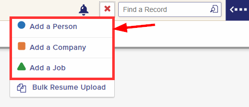 how to add a new person record in your job recruitment software